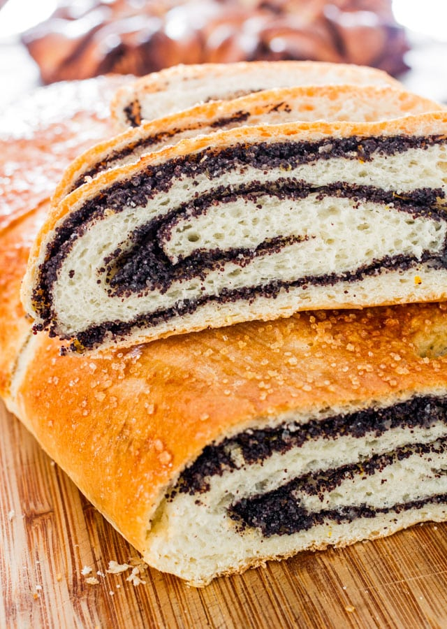 Polish Poppy Seed Roll – a traditional poppy seed roll recipe that will result in the best and most delicious poppy seed roll ever!