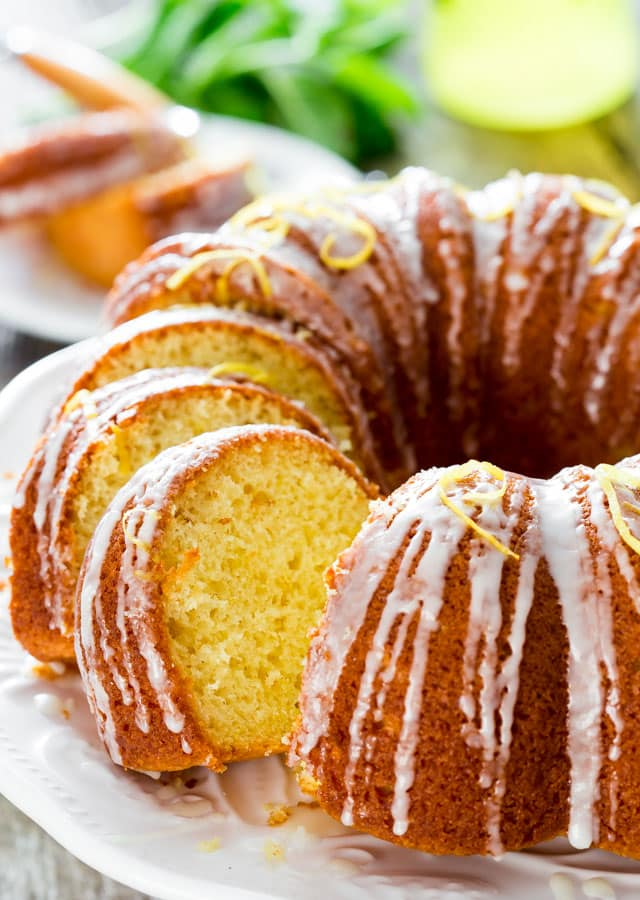 Limoncello Lemon Cake
