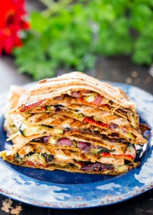 grilled-vegetable-quesadillas-with-mozzarella-cheese-and-pesto-1