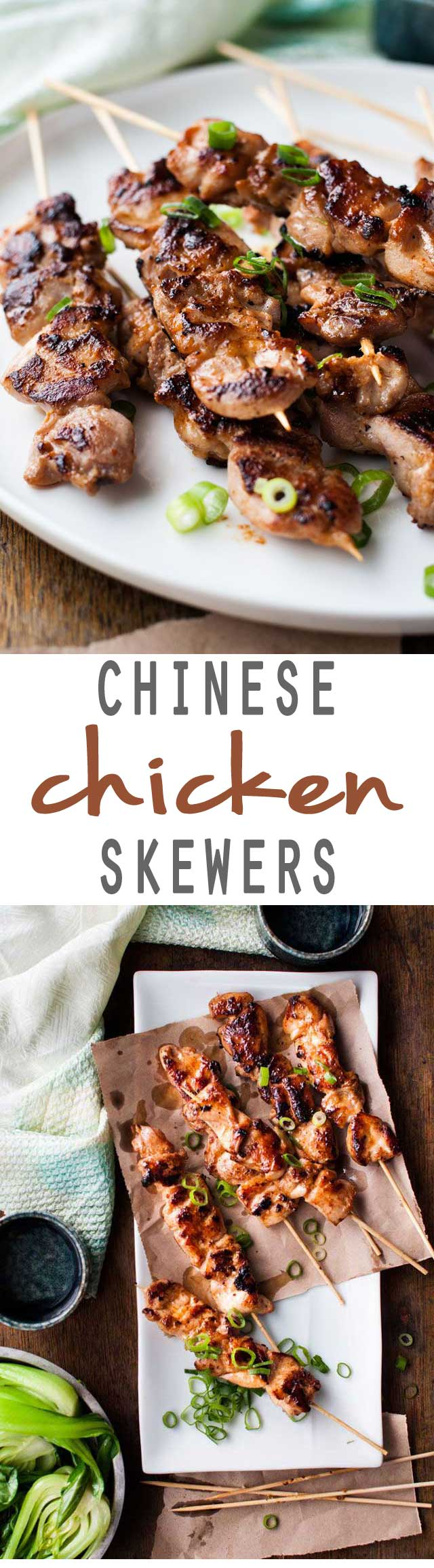 Chinese Chicken Skewers Guest Post From Recipetin Eats Jo Cooks