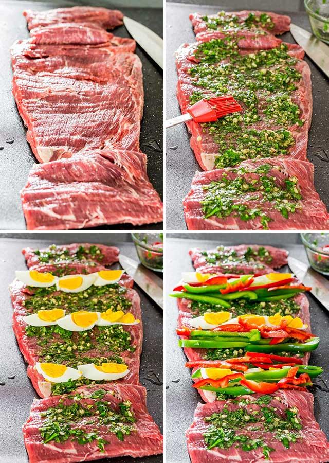 Matambre: Argentinian Stuffed Flank Steak - Jo Cooks