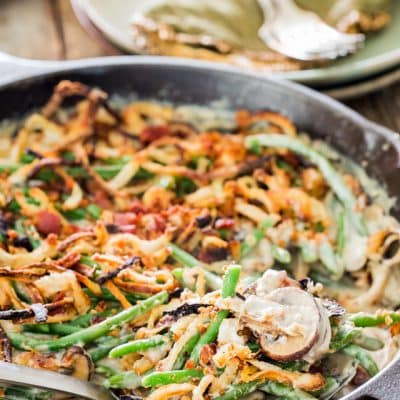 Green Bean Casserole From Scratch