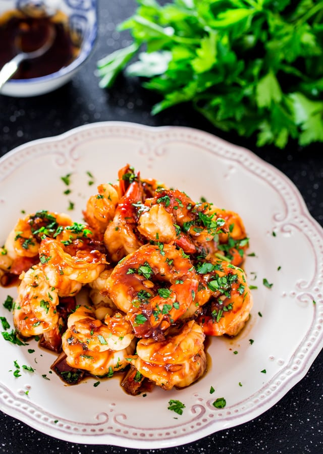 Honey Soy Shrimp