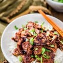 Korean Bulgogi Pork