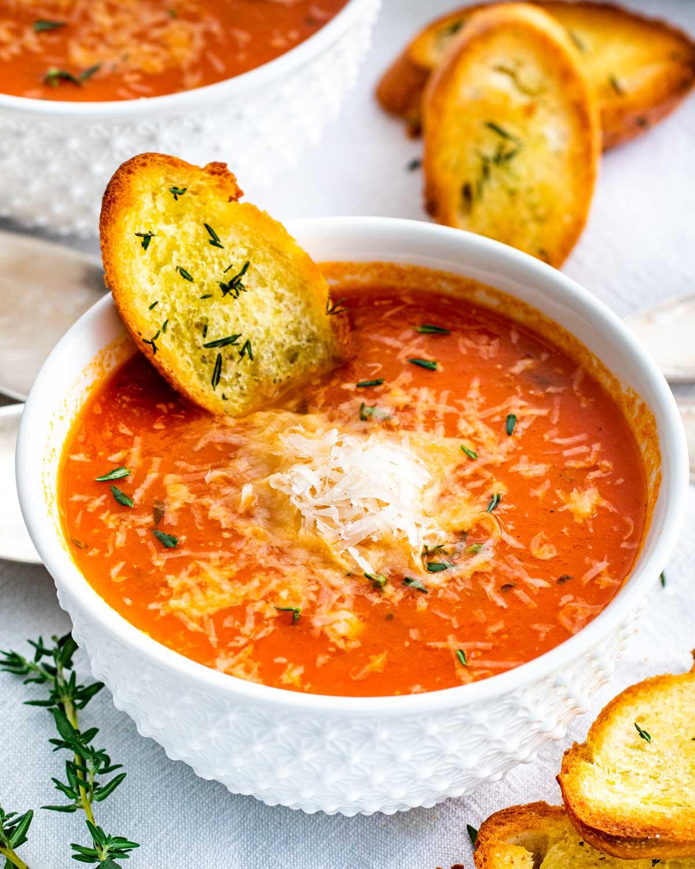 Roasted Tomato Soup Jo Cooks