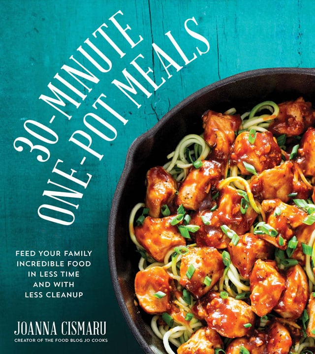 cover of 30 minute one pot meals cookbook