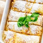Maple Ricotta Stuffed Crepes