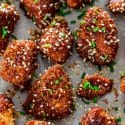 Sticky Honey Sriracha Chicken Bites
