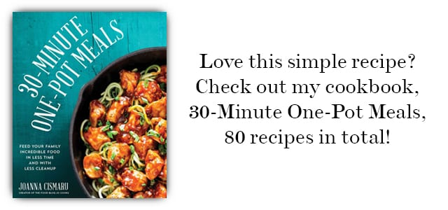 30-Minute One-Pot Meals Cookbook by Joanna Cismaru
