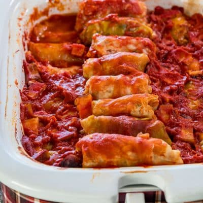 Crockpot Cabbage Rolls