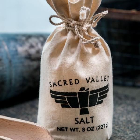 a bag of sacred valley salt