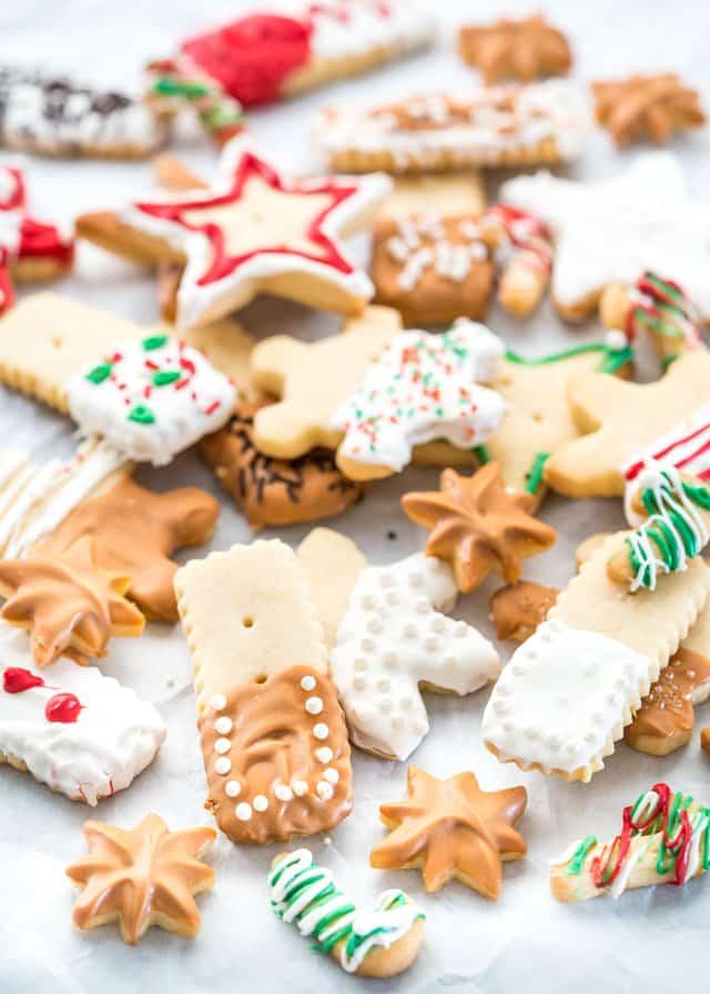 Shortbread Cookies Christmas.Lemon Shortbread Cookies