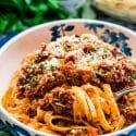 Braised Beef Ragu Fettuccine