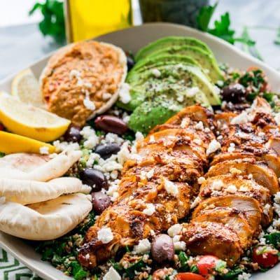 Chicken Shawarma Tabbouleh Salad