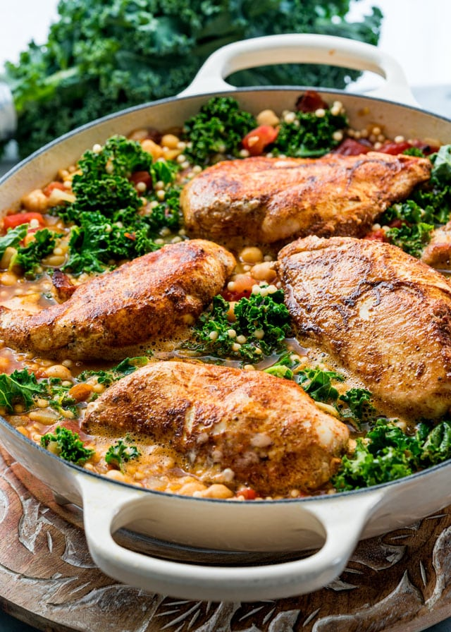 Recipes for moroccan chicken couscous