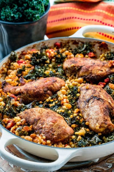 Moroccan Chicken Couscous