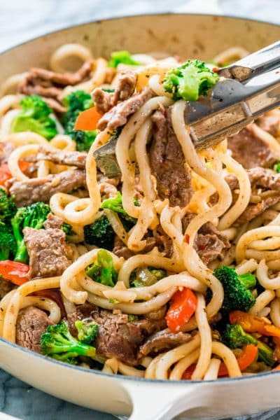 Beef Broccoli Noodle Stir Fry
