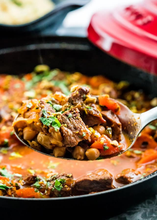 Lamb and Chickpea Tagine - Jo Cooks