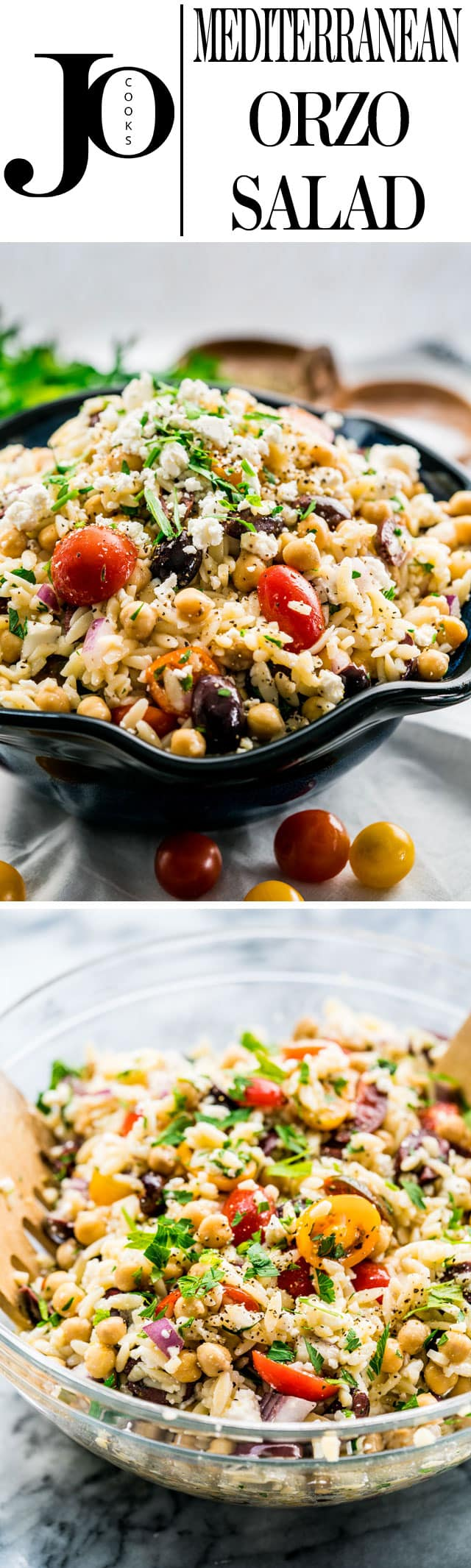 recipe: chicken florentine salad with orzo pasta [28]