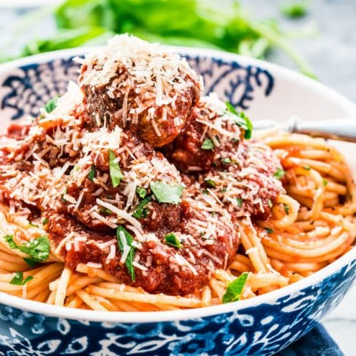 Classic Spaghetti And Meatballs Jo Cooks