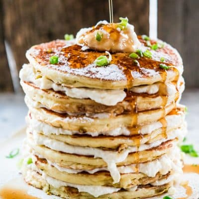 Jalapeno Popper Pancakes