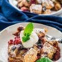 Berry Brioche Bread Pudding