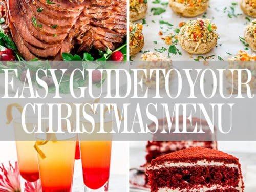 easy whole day christmas menu jo cooks - Christmas Dish