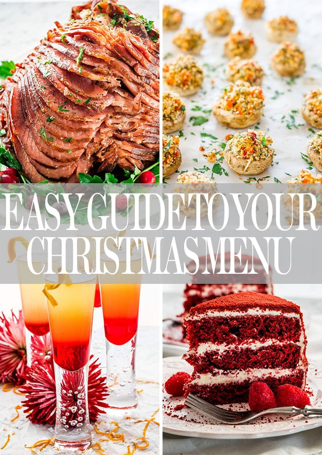Easy Whole Day Christmas Menu - Jo Cooks