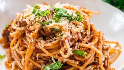 Spaghetti Bolognese Jo Cooks