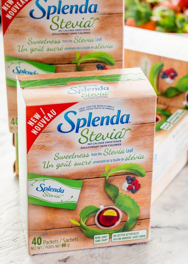 package of splenda stevia