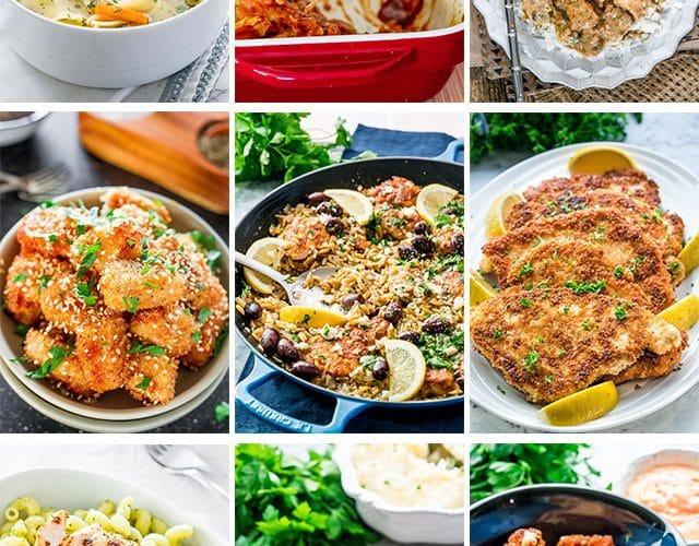 50 Easy Chicken Recipes