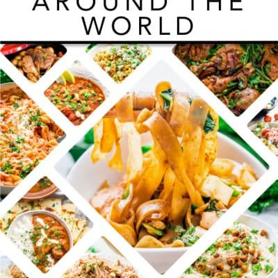 30 Recipes From Around The World – Free eCookbook