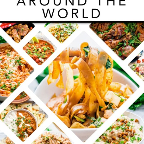 cover of 30 recipes from around the world ebook