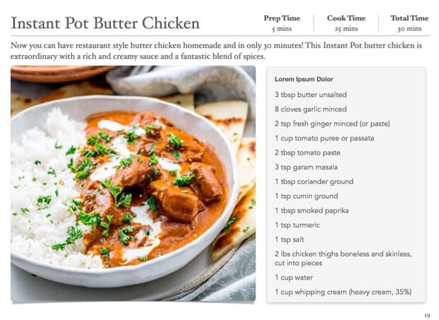 30 Recipes From Around The World e-Cookbook