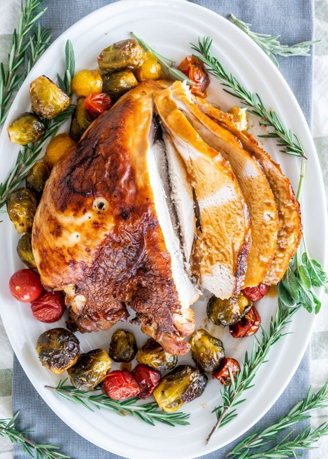 Brined Roast Turkey Breast