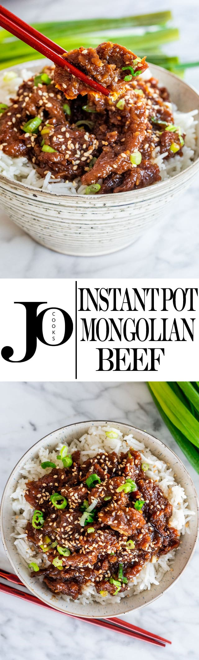 This Instant Pot Mongolian Beef is your answer to