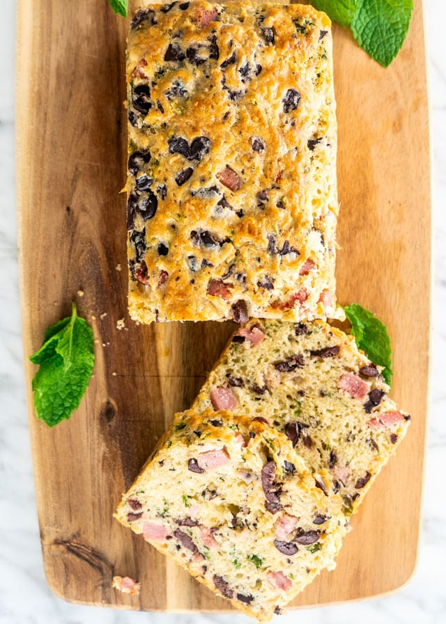 Olive Ham and Cheese Loaf