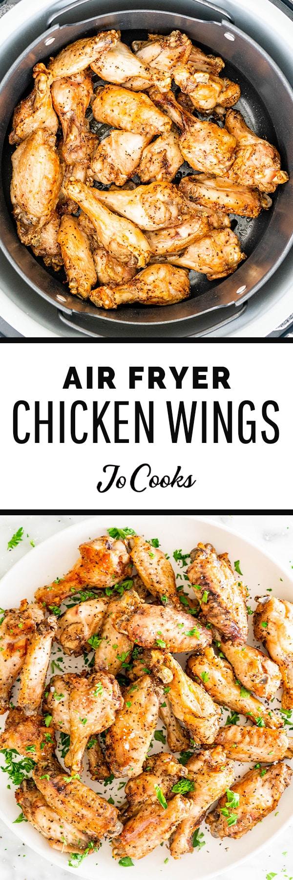 ninja air fryer chicken wings recipe