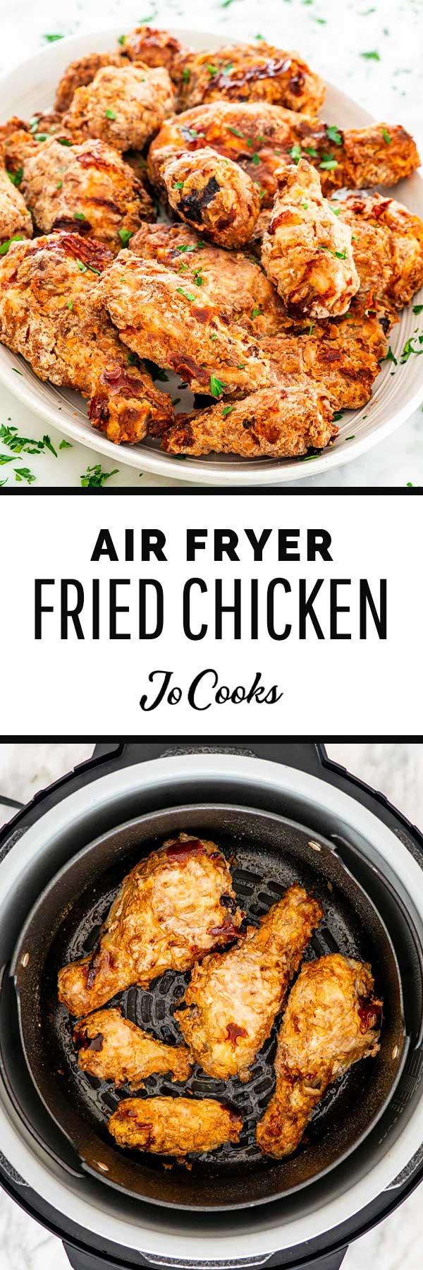 air fryer korean fried chicken