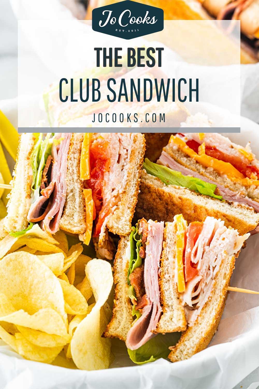 pin for club sandwich.