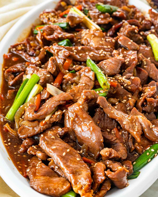 Korean Beef Stir Fry Jo Cooks