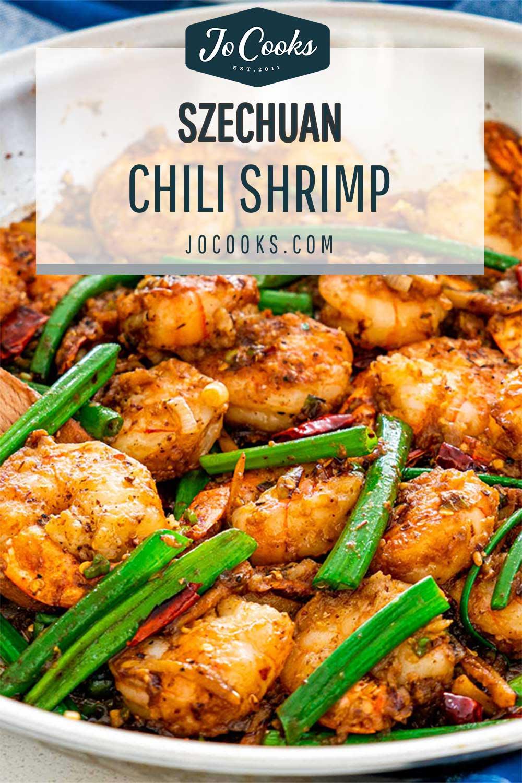 pin for szechuan chili shrimp.