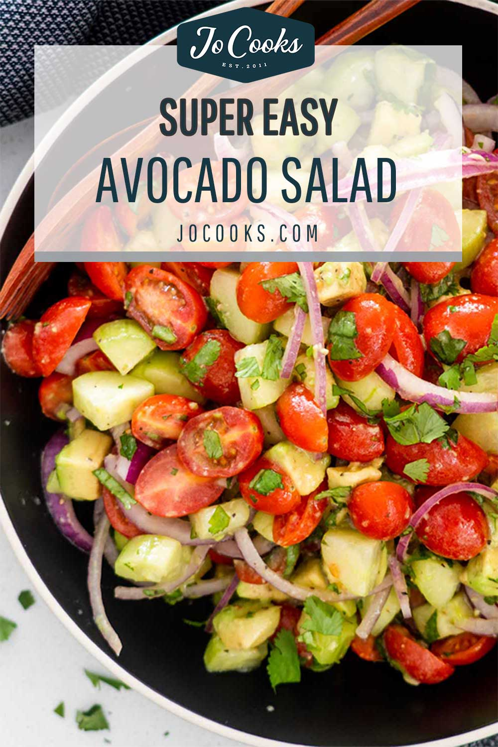 pin for avocado salad.