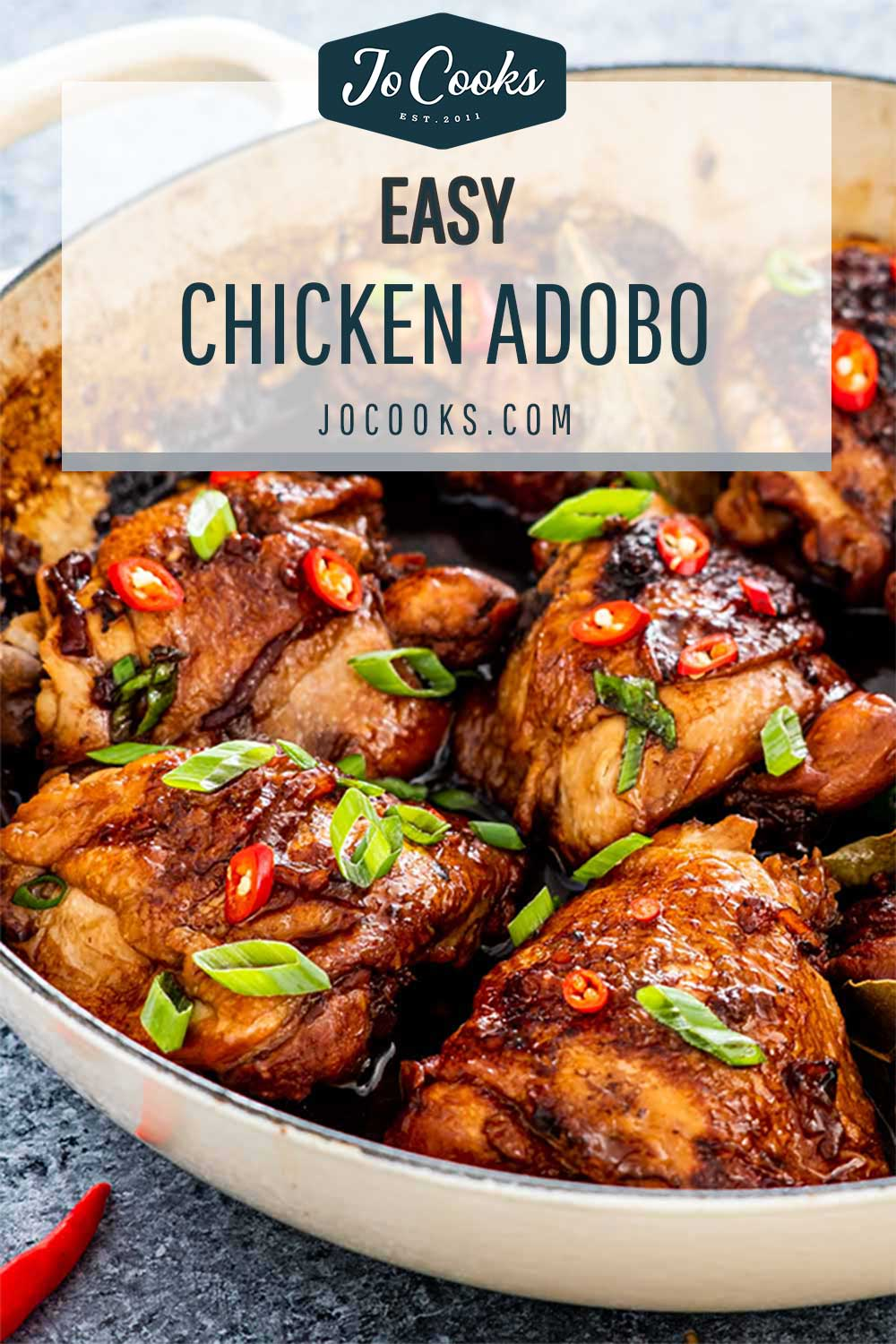 pin for chicken adobo.