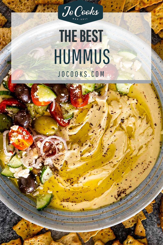 pin for hummus.