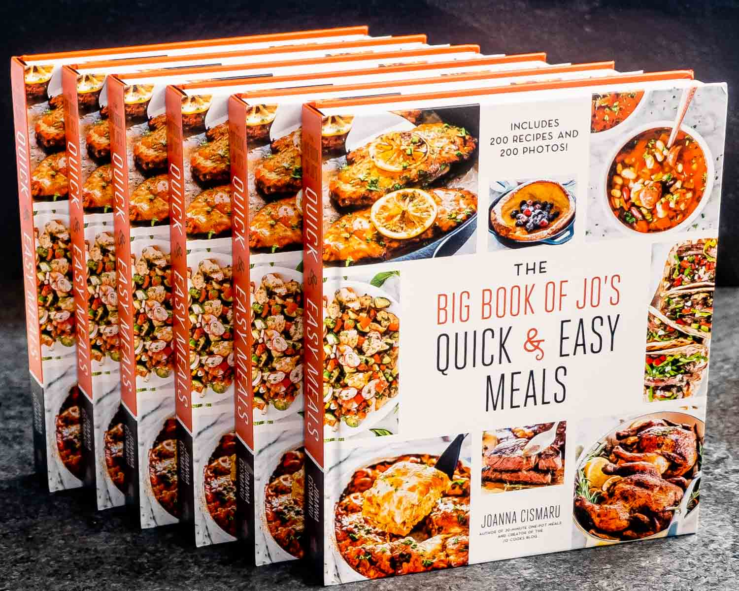 the big book of jo's quick and easy meals